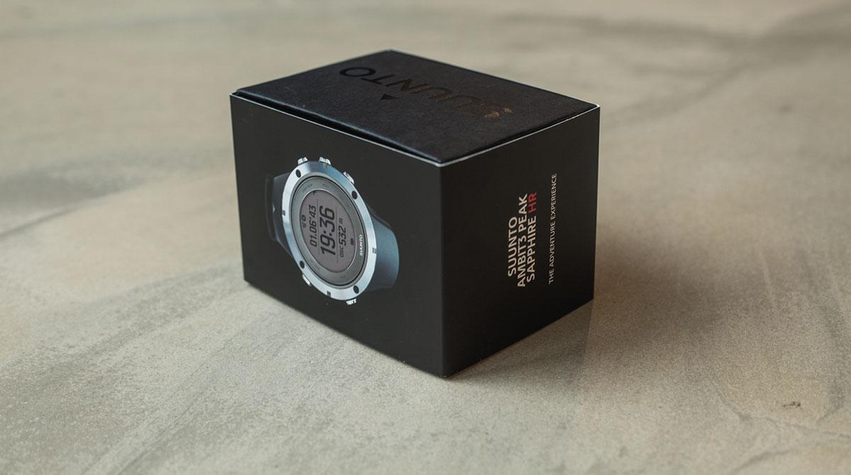 Suunto Uhr Verkaufsbox