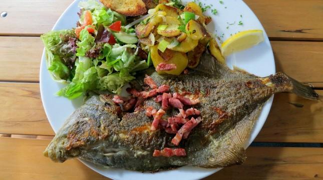 Fisch Gemuese Teller