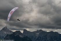 Gleitschirmfliegen-Alpen