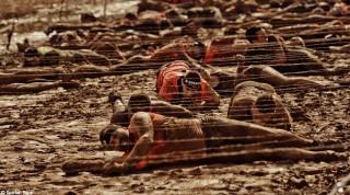 Stacheldraht Hindernis Spartan Race