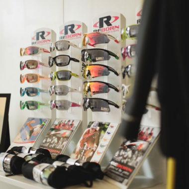 Reborn-Sonnenbrillen-Testmaterial