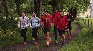 Salomon Running Team Athleten laufen
