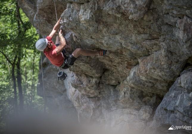 Klettern am Fels in Saalfelden Leogang