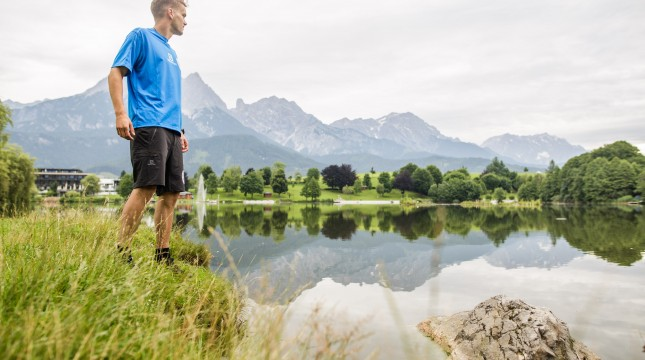 Trailrunning in Saalfelden Ritzensee