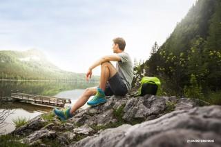 Gestrickter Wanderschuh von Dachstein
