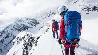 Hochtour-am-Gletscher