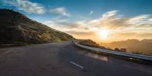 Sonnenaufgang-Laufen