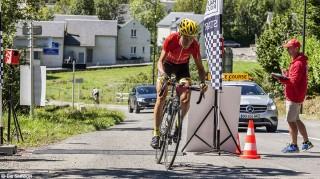 Rennrad-Etappe Stefan