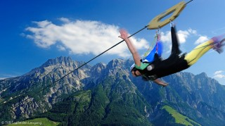 Flying Fox Saalfelden Leogang