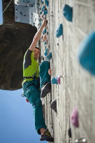 Klettern-Belastung-Gelenke