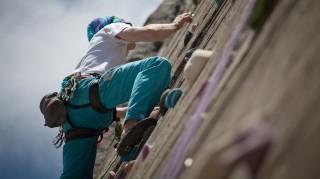 Klettern-Kletterwand