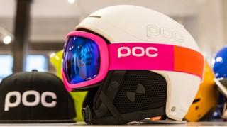 Skibrille pink