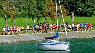 Lauf um den Achensee