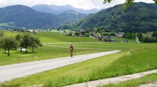 Bergmarathon-Strecke