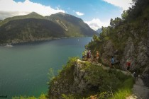 Achenseelauf durchs Panorama
