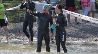 Zusatzbewerb der Wolfgangsee Challenge: der Aquathlon