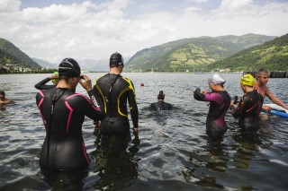 schwimen-see - Sportalpen Triathlon Camp Zell am See 1035