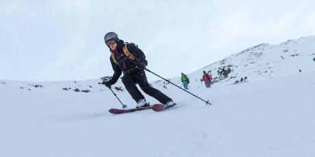 Skitest am Kitzsteinhorn