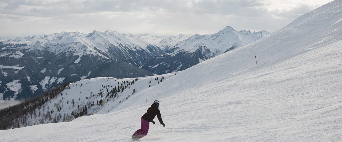 Skifahren wird in Mayrhofen zum Erlebnis