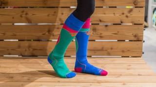 Ortovox-Socken-Skifahren