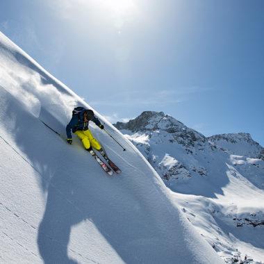 Skifahren-Salomon
