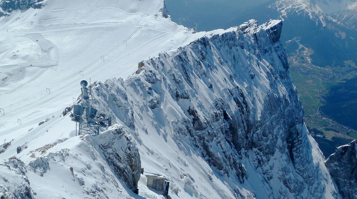 Skigebiet-Zugspitze