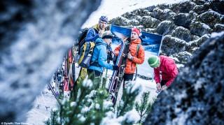 Skitourengehen-auffellen