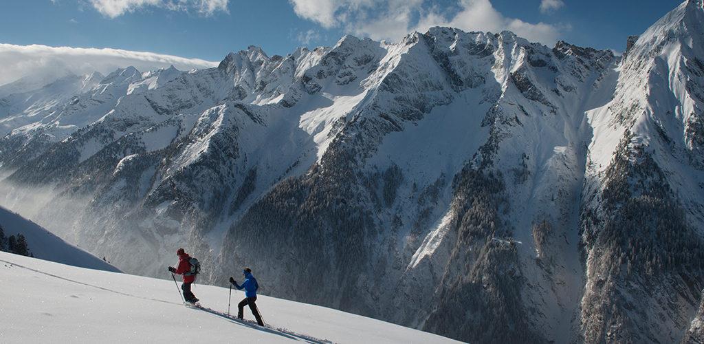 Winterlandschaft in Mayrhofen