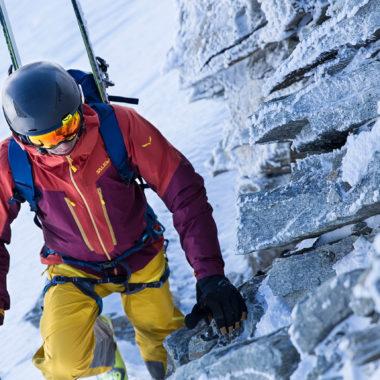 Der perfekte Begleiter für Skitouren: der Salewa Vert