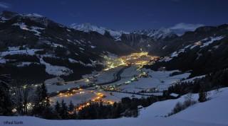 Nachtaufnahme Mayrhofen