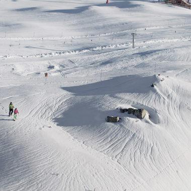 Winterwandern am Ahorn