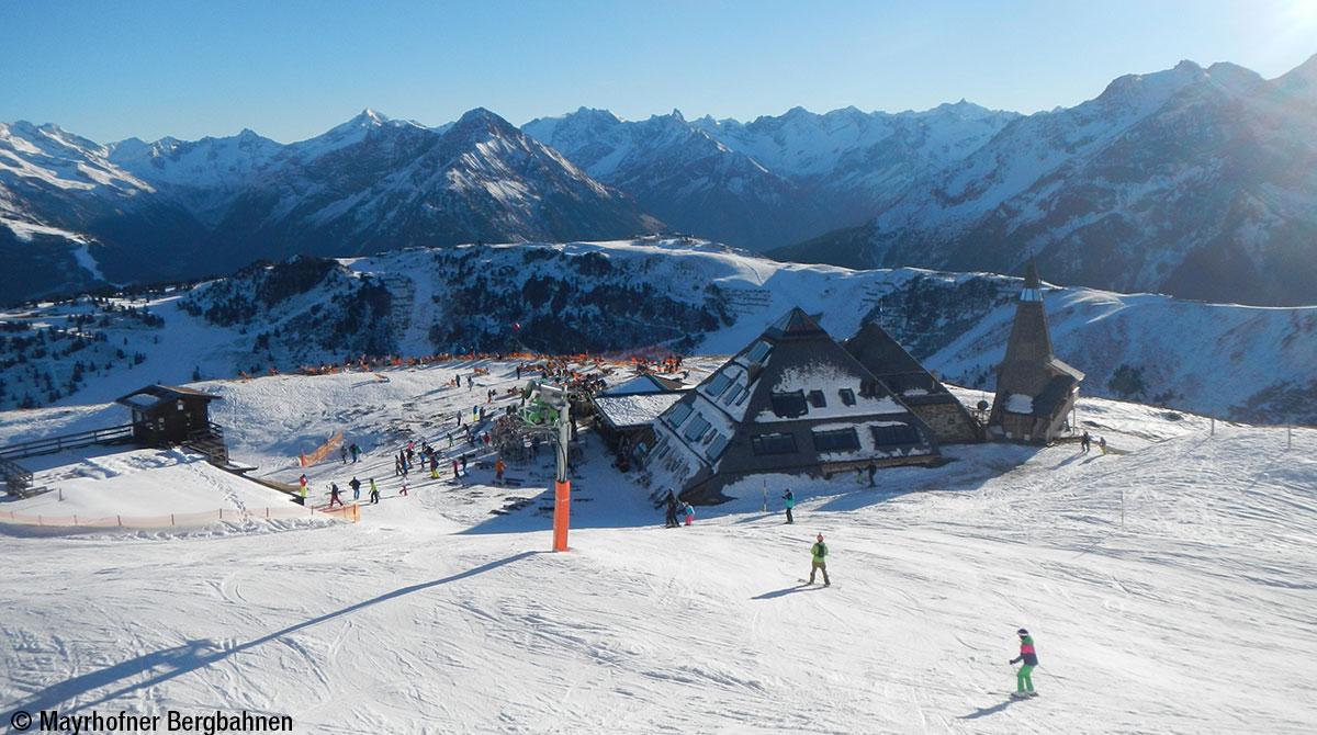 Skihütten-Test