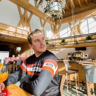 Mittagspause im Tiroler Haus