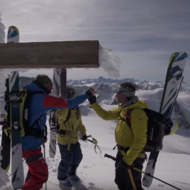 Videodreh in den Schweizer Alpen