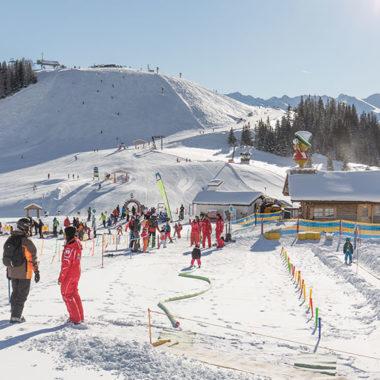 Kinderland im Skigebiet Serfaus-Fiss-Ladis