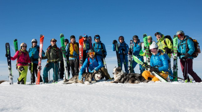 Hagan Skitourencamp in Thiersee