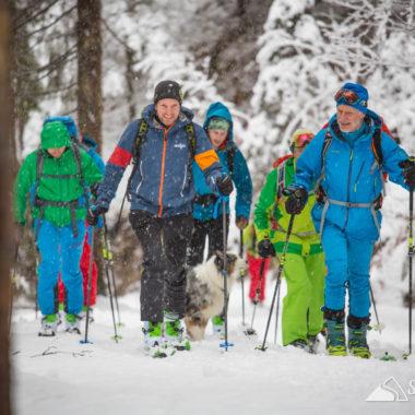 skitourencamp, skitouren, thiersee