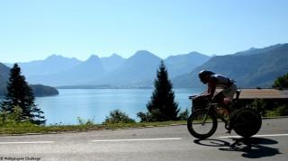 Rennradfahrer-Wolfgangsee-Challenge