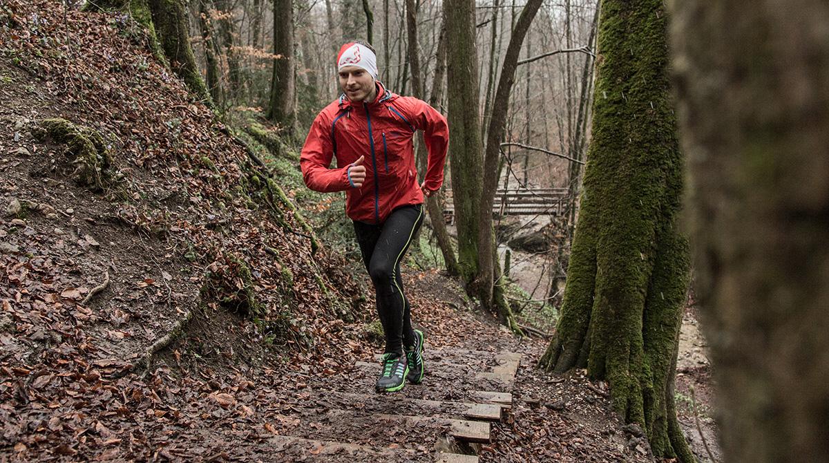 Trailrunning Stiege Dynafit Vertical