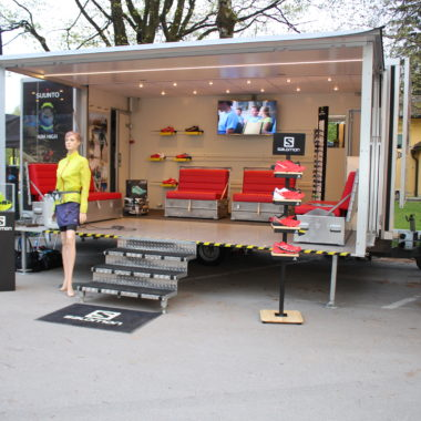 salomon stand wagen running