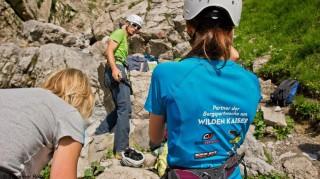 Theorie und Praxis bei der Bergsportwoche