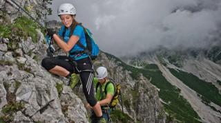 Anspruchsvoller Klettersteig