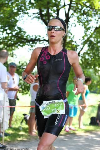 Teilnehmerin-Trumer-Triathlon