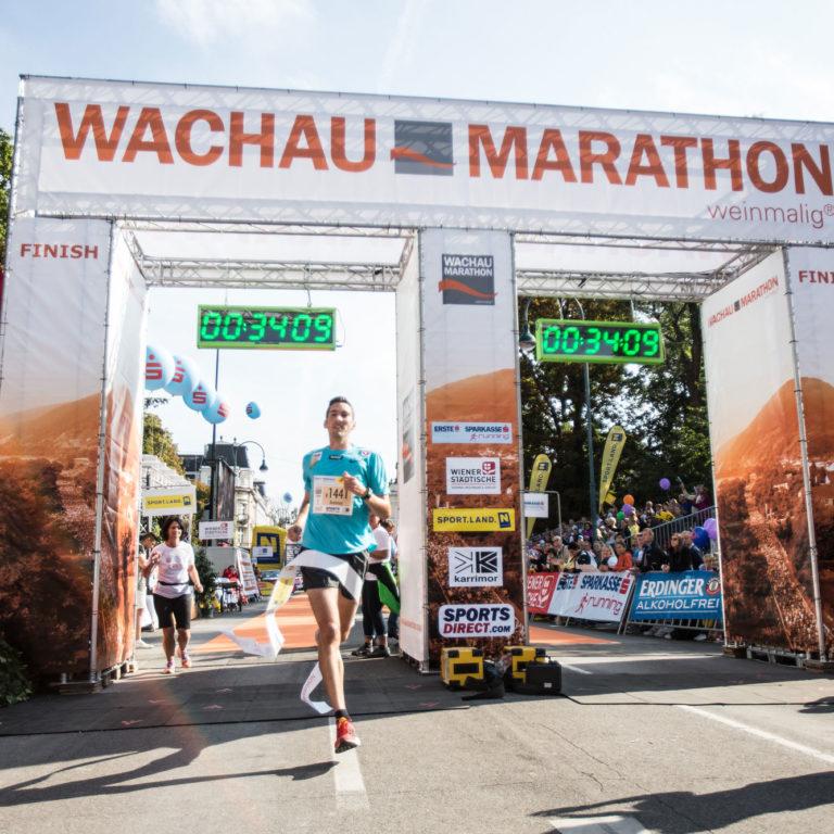 Zieleinlauf-Wachau-Marathon