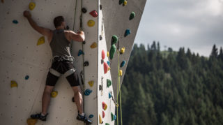 kletterewand kletterer