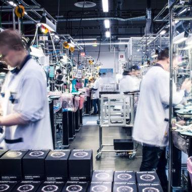 Suunto-Firma-Produktion