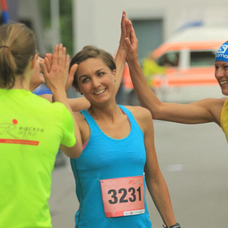 Teilnehmerinnen-Tiroler-Frauenlauf