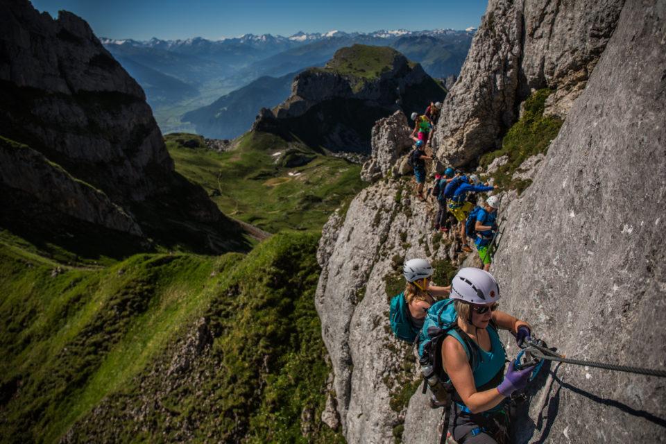Klettersteig Achensee : Mit den salewa guides ins rofangebirge 4 tage