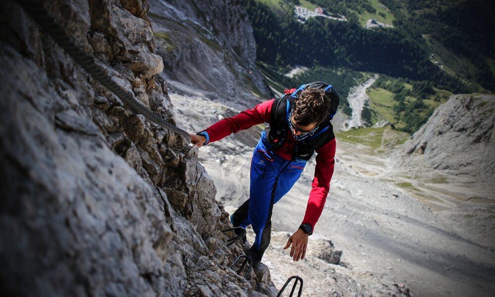Lukas Klettersteig salomon schuh