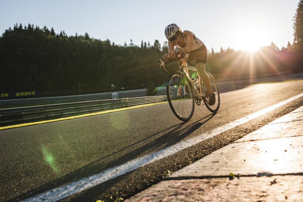 Rennradtraining am Salzburgring